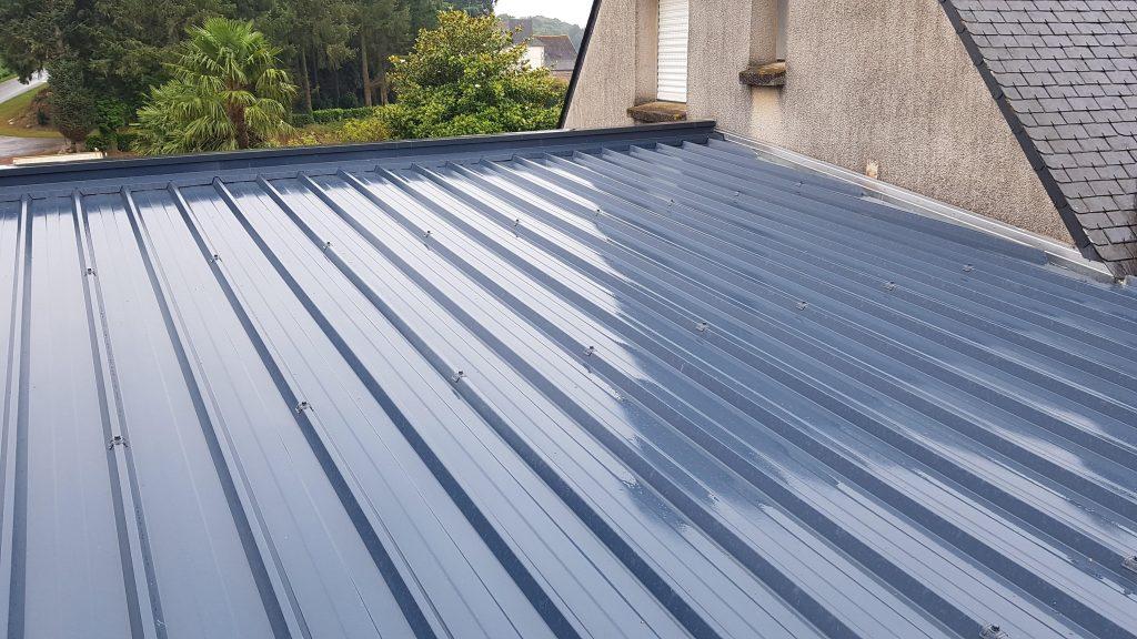 Couverture sèche, bac acier, panneau sandwich isolant - Tremblay toiture